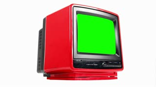 Green Screen TV Spin