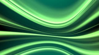 Green Swirling Lines