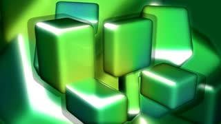 Green Yellow Square Transform