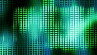 Greenish Lights Through Grate