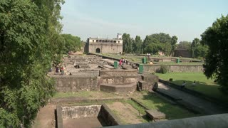 Grounds at Shaniwar Wada Palace in India