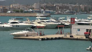 Group of Boats Docked in Harbor in Spain 2