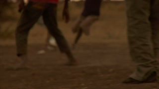 Group of Kids Playing Soccer in Africa 13