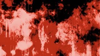 Grunge Fire Red