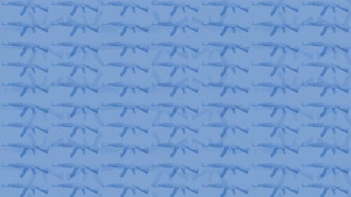 Gun Pattern Light Blue
