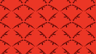 Gun Pattern Red