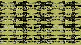 Gun Pattern Yellow
