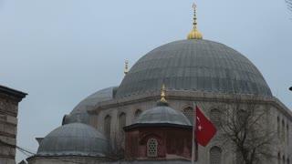 Hagia Sophia Mosque Domes