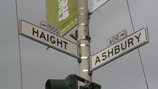 Haight Ashbury Street Sign