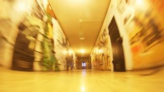 Hallway Graffiti