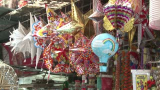 Hanging Things in Crawford Market