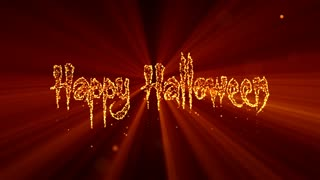 Happy Halloween Light Animation