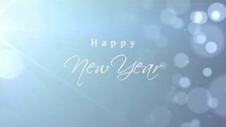 Happy New Year Bokeh Background
