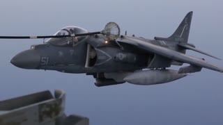 Harrier and Osprey air to air refueling