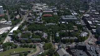 Harvard University Campus, Aerial View