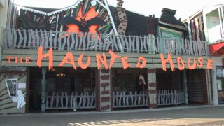 Haunted House Ride on Ocean City Boardwalk