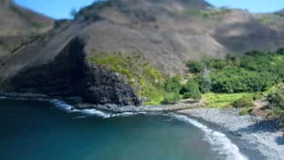 Hawaii Shore Tilt Shift