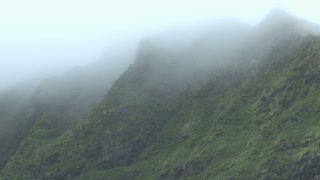 Hawaiian Mountains through Mist and Fog 2