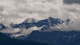 Hazy Mountain Peaks