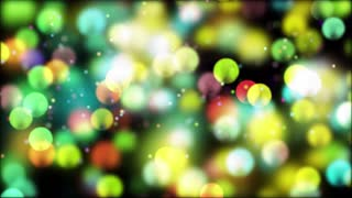 Bokeh Particle Background