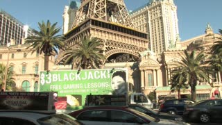 HD Las Vegas Eiffel Tower Day