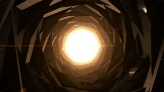 HD Loopable Background with nice abstract tunnel