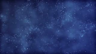 HD Loopable Background with nice glowing particles