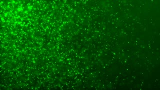 HD Loopable Background with nice green particles