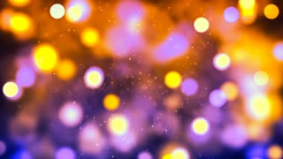 HD Loopable Background with nice orange bokeh