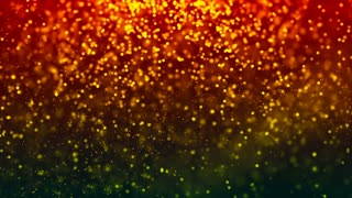 HD Loopable Background with nice orange dust