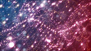 HD Loopable Background with nice shiny particles