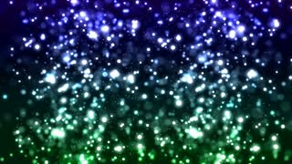 HD Loopable Background with nice sparkle green bokeh