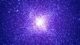 HD Loopable Background with nice supernova explosion