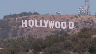 HD Los Angeles Hollywood Sign 2