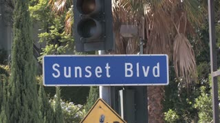 HD Los Angeles Sunset Boulevard