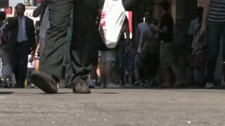 HD New York City Foot Traffic NYC