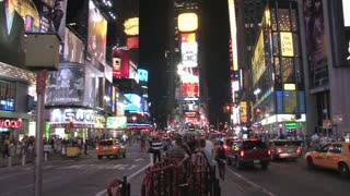 HD New York City Times Square 12