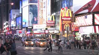 HD New York City Times Square 3
