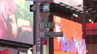 HD New York City Times Square 5