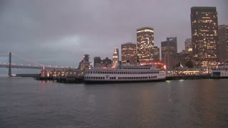 HD San Francisco San Francisco Bay Night Skyline 3