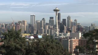 HD Seattle Seattle Skyline