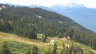 Heading Up Whistler Mountainside 2