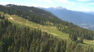 Heading Up Whistler Mountainside