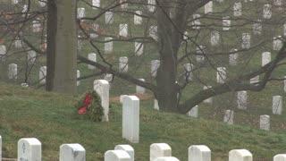 Headstones In Cemetery