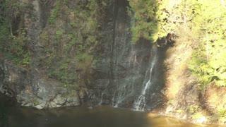 Heavy sun on waterfalls