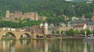 Heidelberg Across  River Neckar