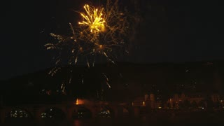Heidelberg Castle Fireworks