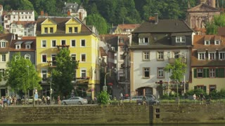 Heidelberg Riverfront Buildings