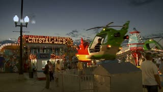 Helicopter Ride At Carnival