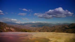 Hierve el Agua Landscape
